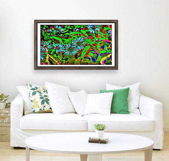 Green Flat-pic art  Art