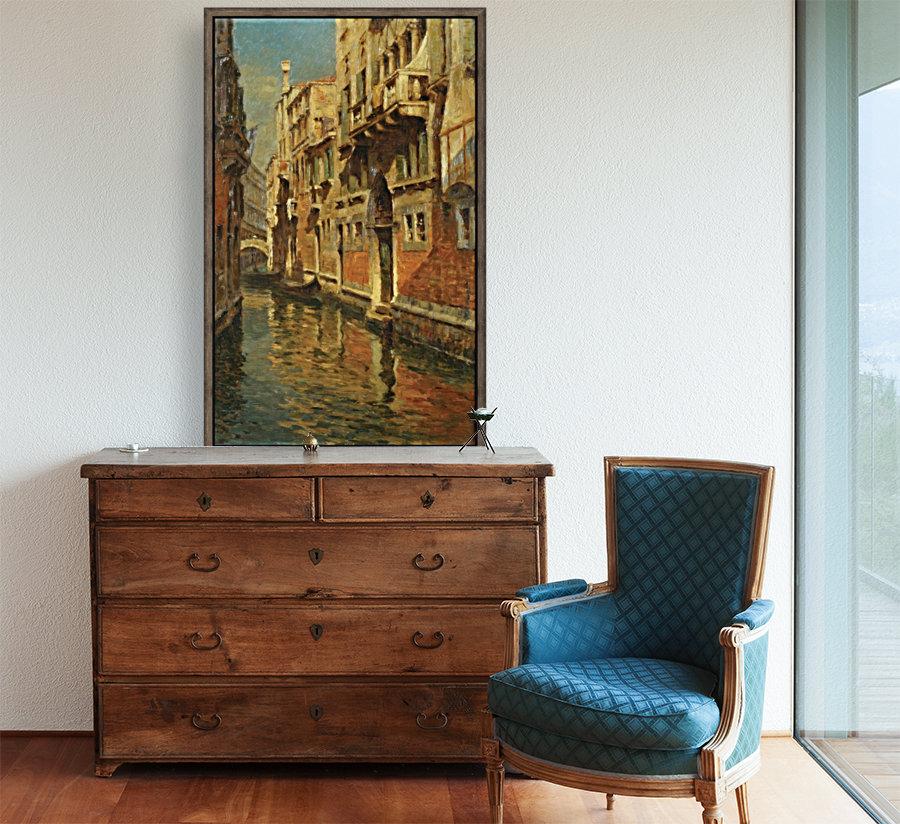 Shining morning in Venice  Art