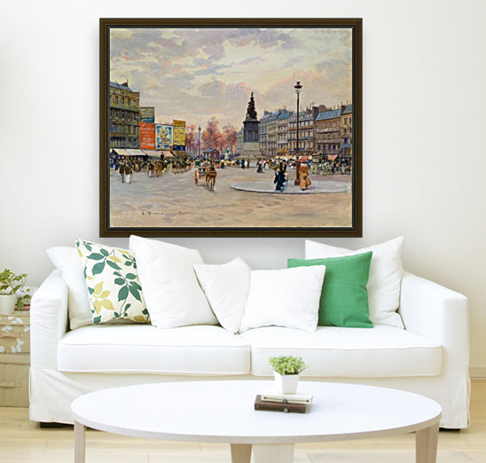 Place of Clichy  Art