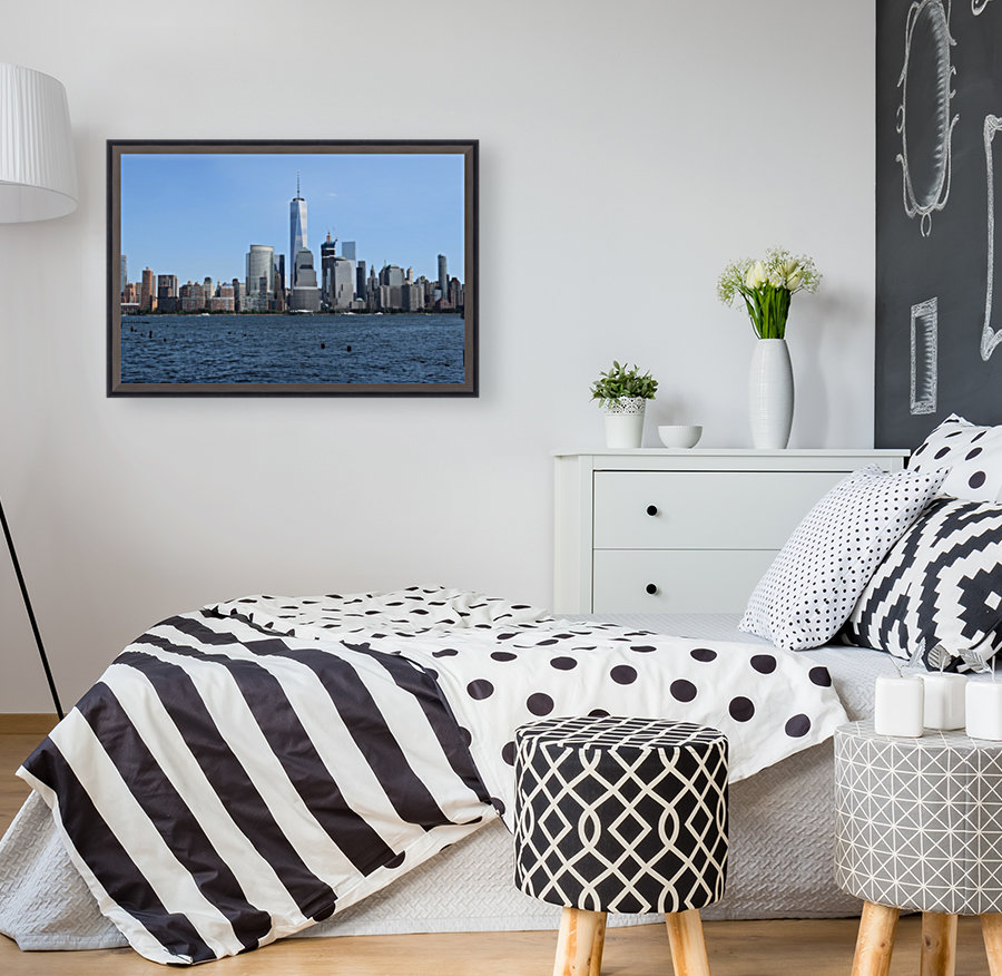 MANHATTAN, NEW YORK with Floating Frame