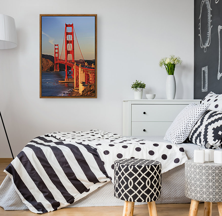 Golden Gate Bridge; San Francisco, California, United States of America  Art