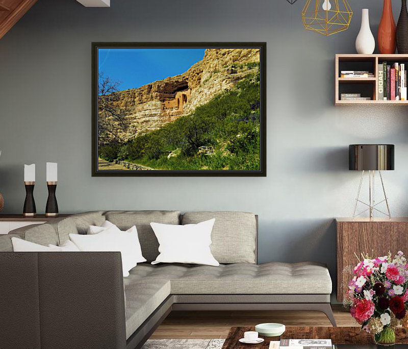 Montezuma's Castle  with Floating Frame