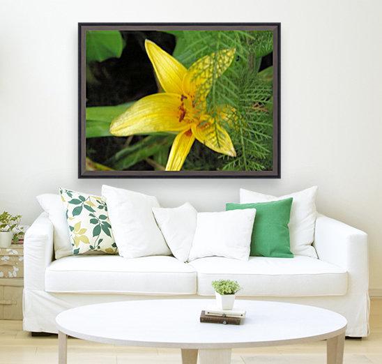Yellow Flower-2  Art