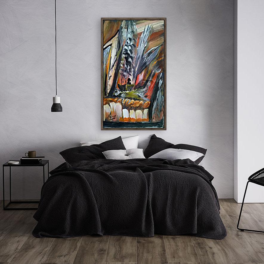 abstact canvas acrylic   Art