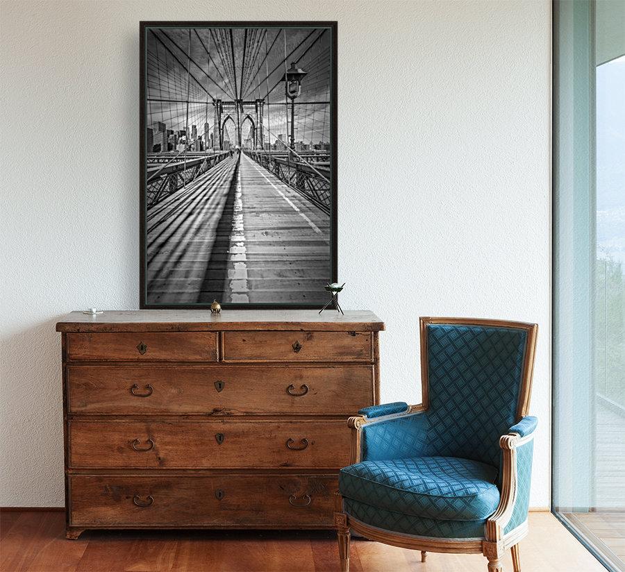 NEW YORK CITY Brooklyn Bridge  Art