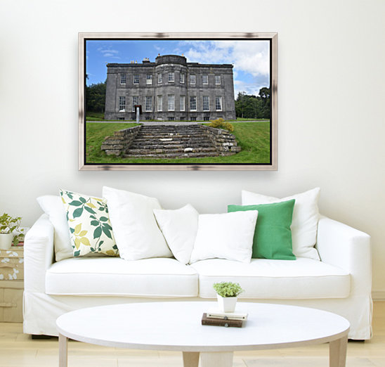 LISSADELL HOUSE & GARDENS with Floating Frame