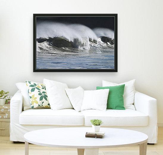 Waves Crashing On Mill Bay Beach Kodiak Island Southwest Alaska Autumn  Art