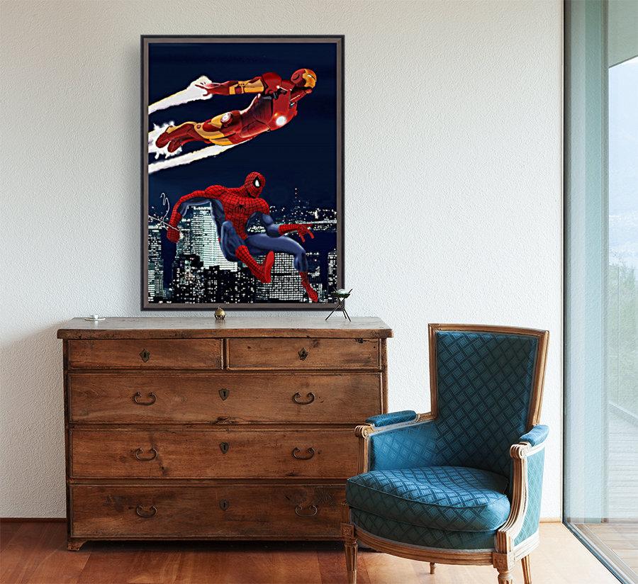 Marvel: Iron Man & Spider-Man  Art