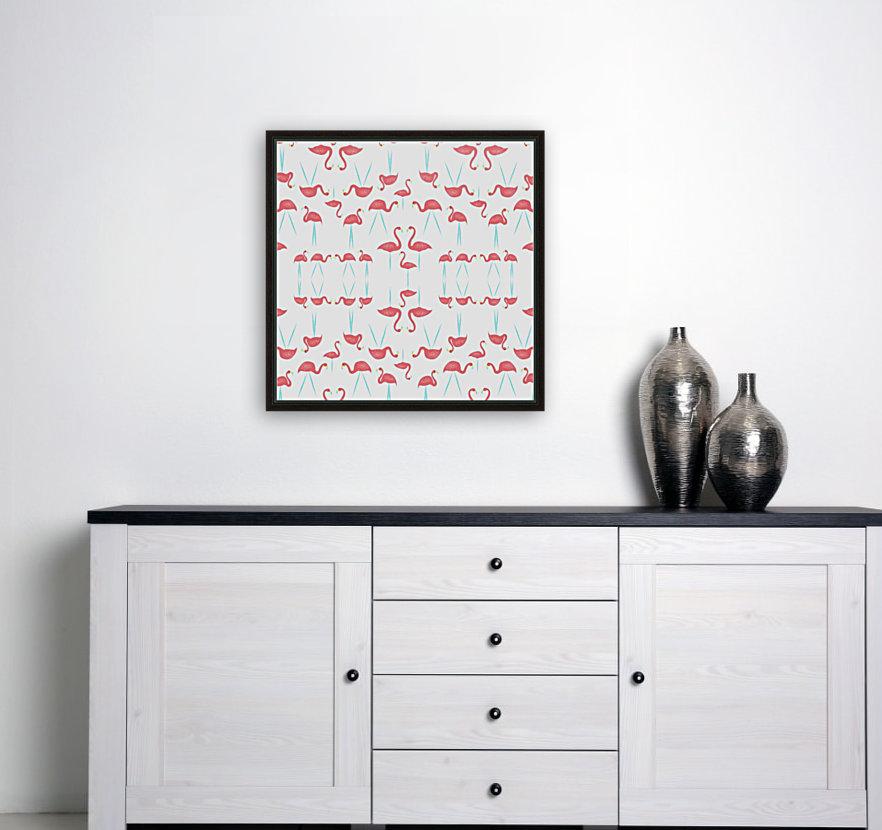flamingos  Art