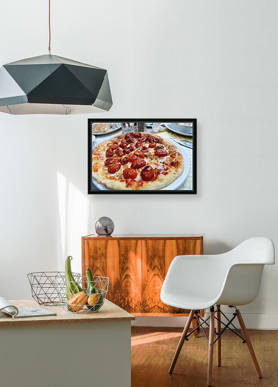 Pizza dans le Jardin de Nelson  Art