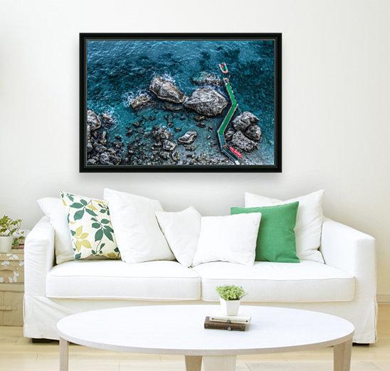 The Beach - Amalfi Coast - Italy  Art