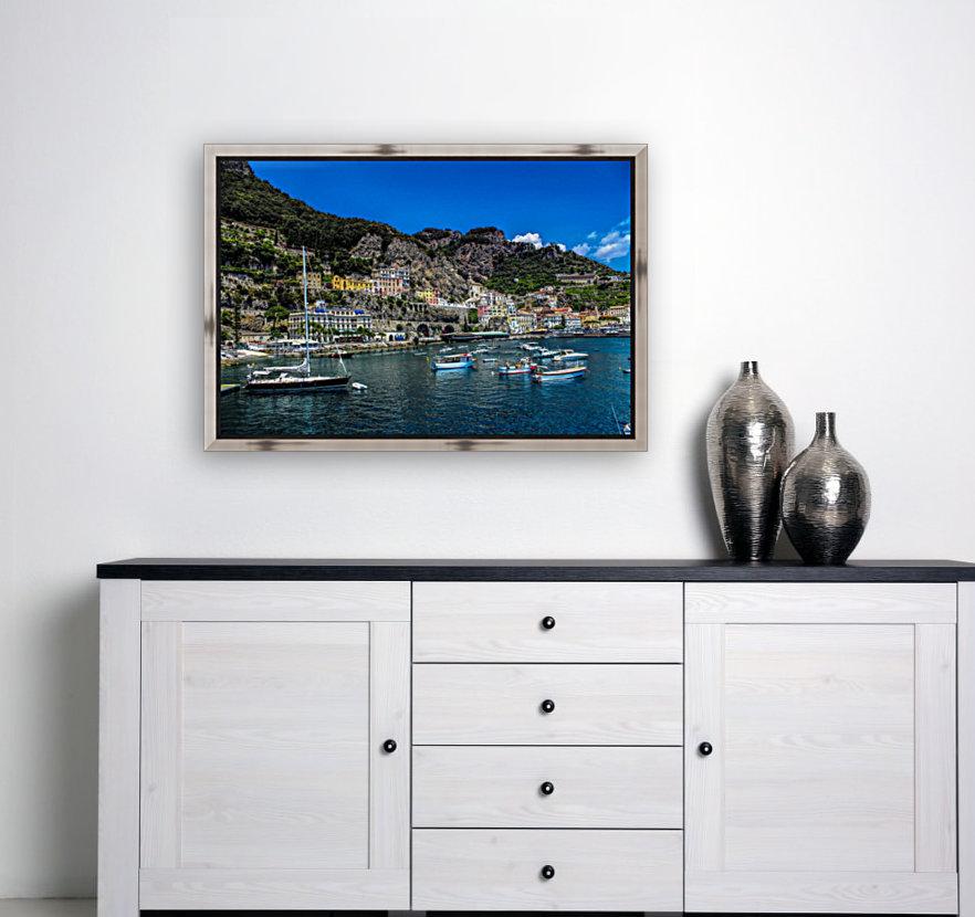 Amalfi Coast Panoramic View  Art