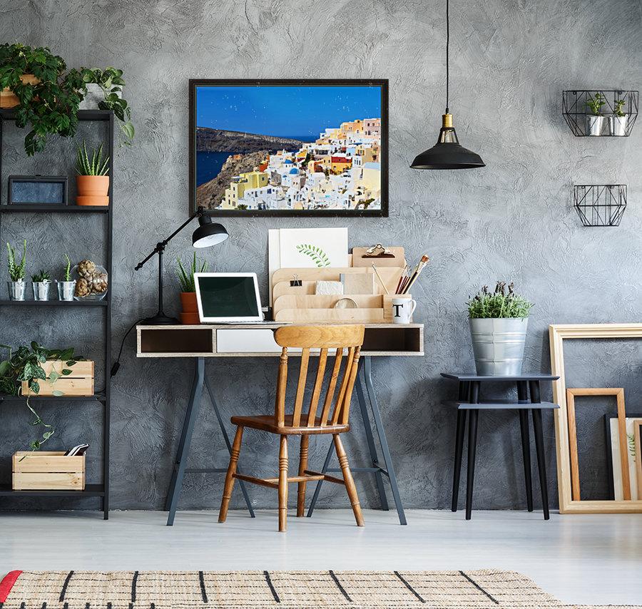 Santorini Landscape - Greece  Art