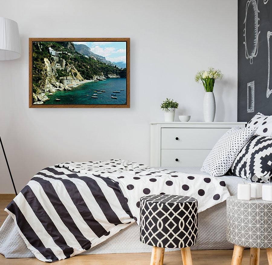 Amalfi Coast - Conca dei Marini Beach - Italy  Art