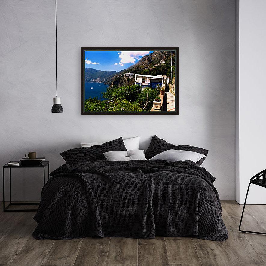 Amalfi Coast Landscape - Italy  Art