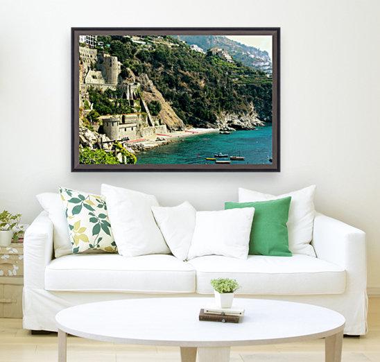 Amalfi Coast Beach - Italy  Art