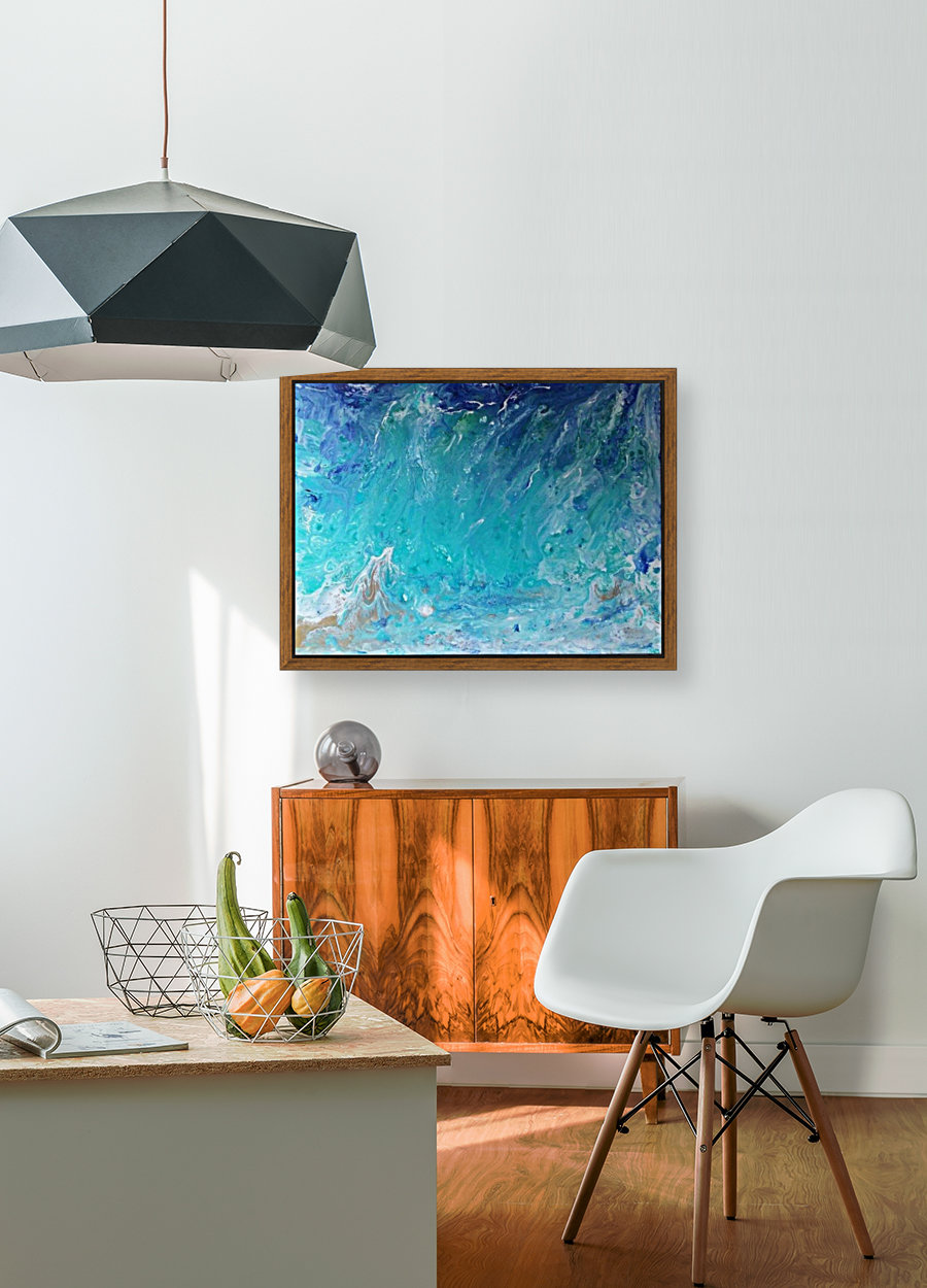 Wet an Abstract wave  Art