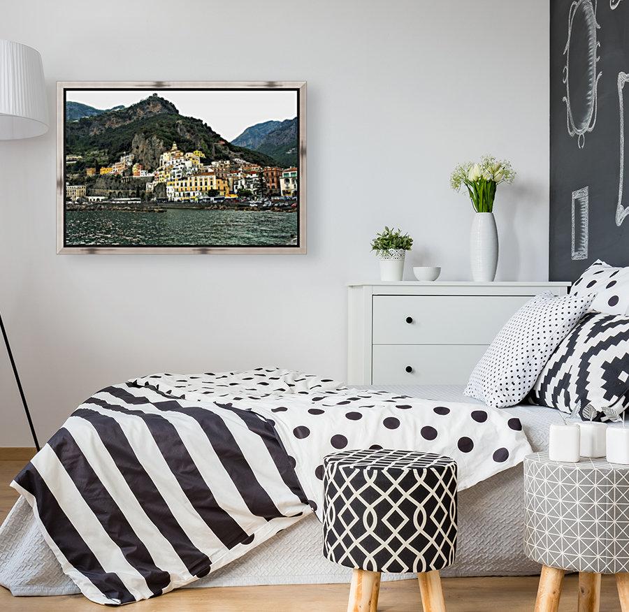 Italian Village Landscape - Amalfi  Art