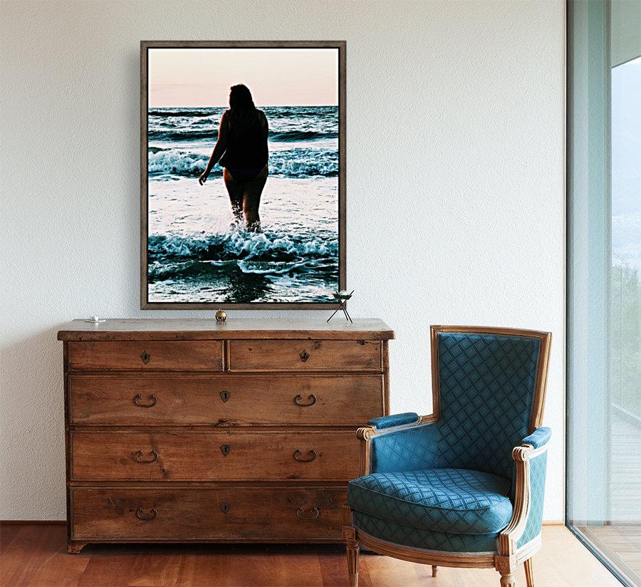 blue sea  Art
