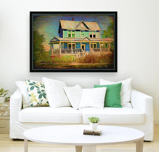 Valentine House Oil  Art