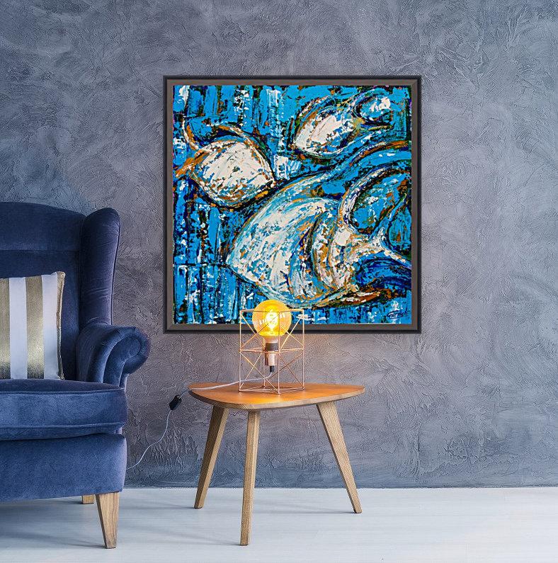 Flow Of Dreams-2 - 18 inch x 18   Art