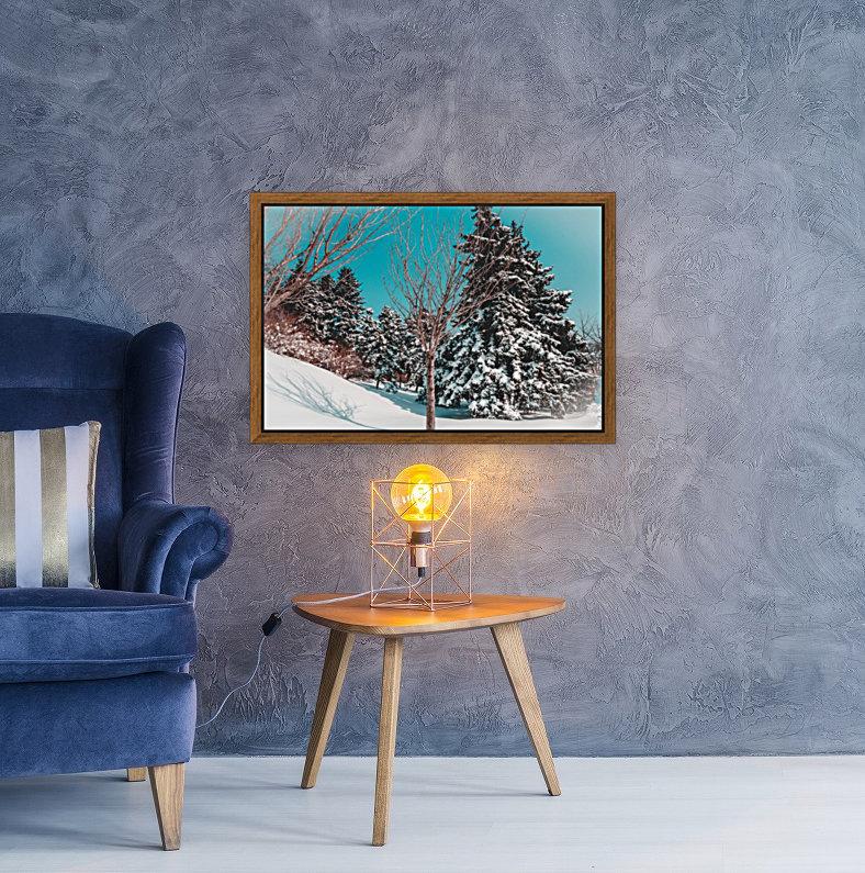 Snowy Pine Trees  Art