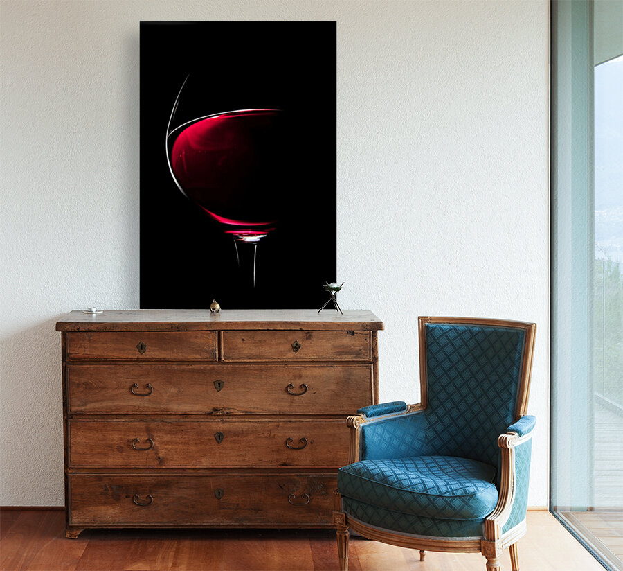 Red Wine  Art