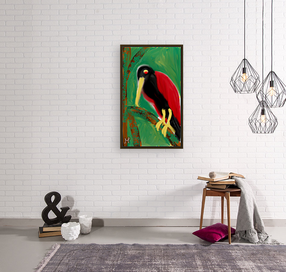 Woodpecker  with Floating Frame