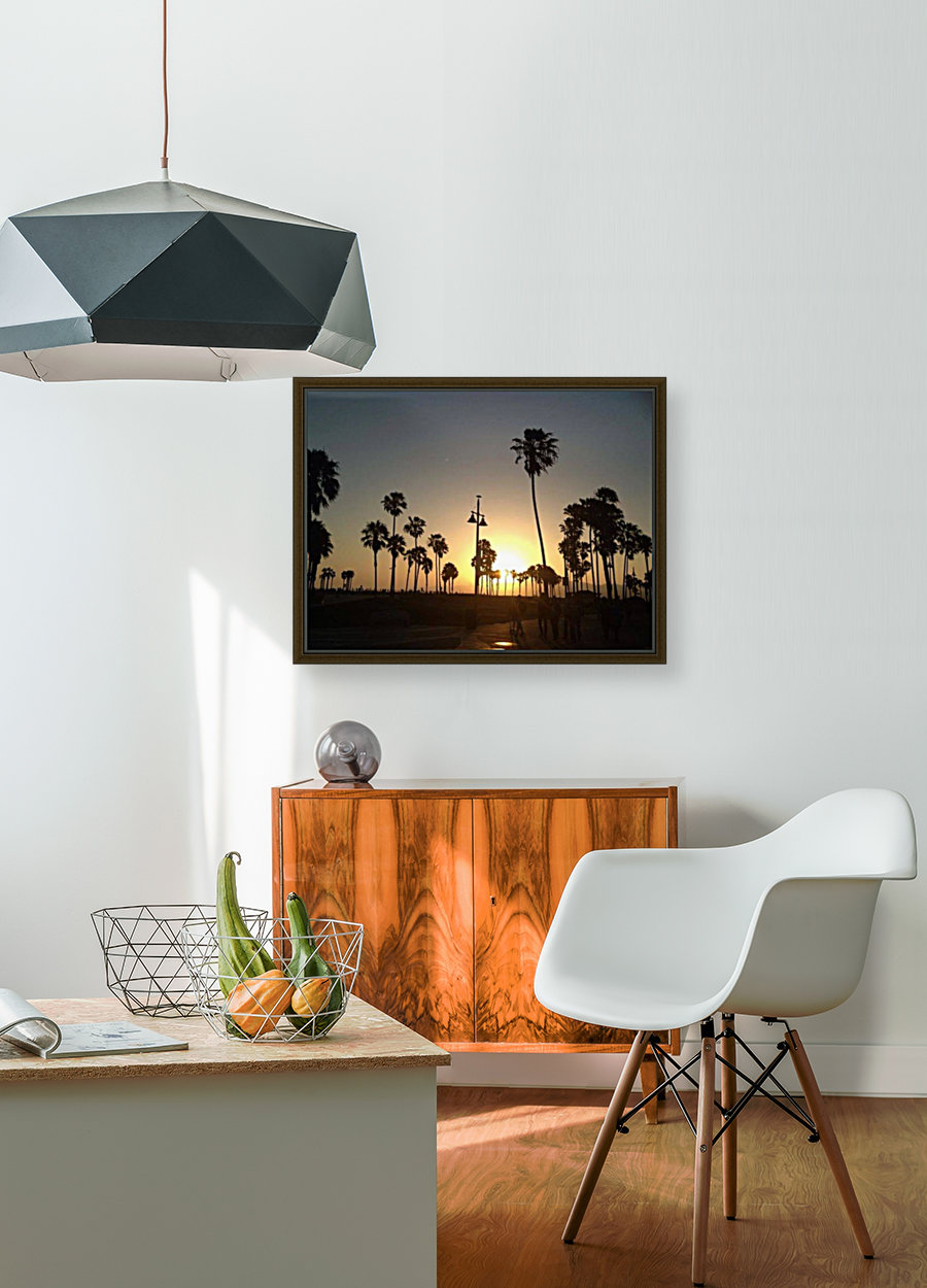 Venice Beach, California with Floating Frame
