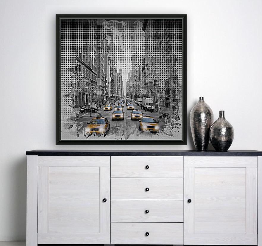 Graphic Art NEW YORK CITY 5th Avenue Traffic  Art
