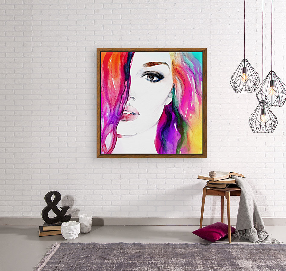 Abstract Woman  Art