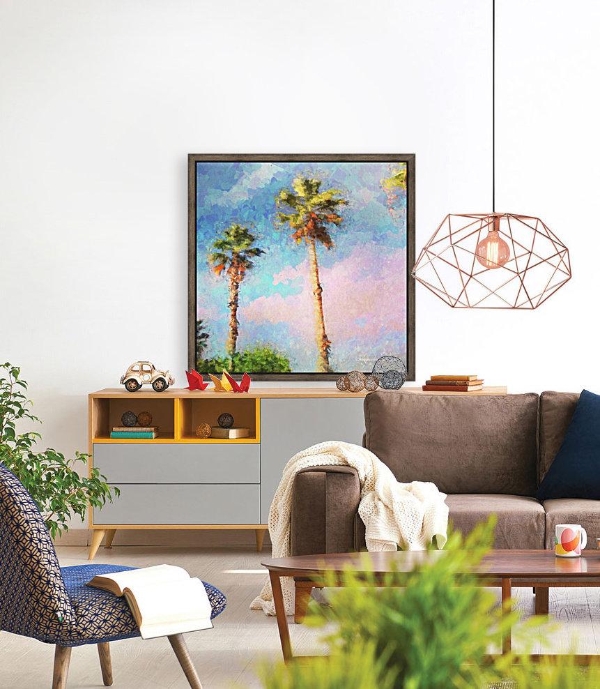 Painted Palms  Art