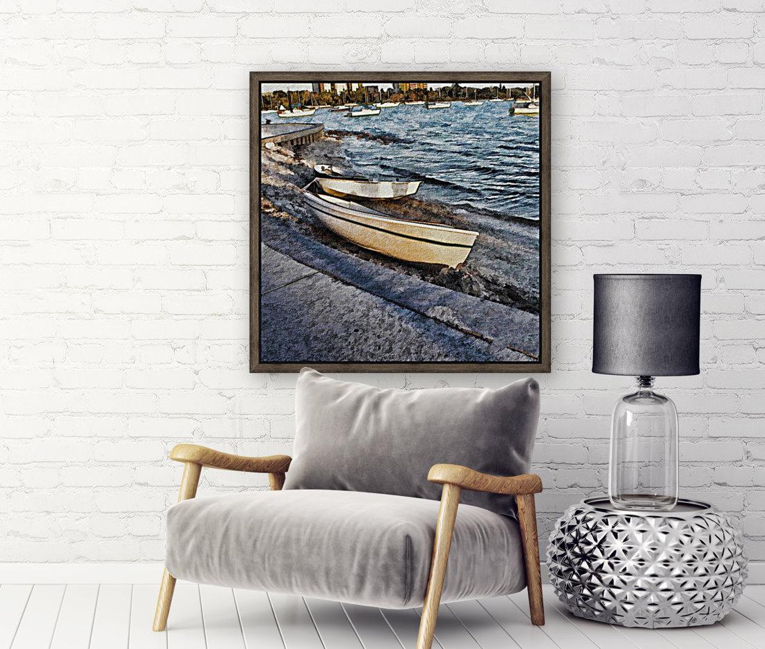 Boats At The Bay  Art