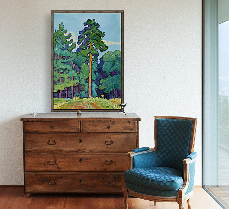 Edge of the Forest  Art