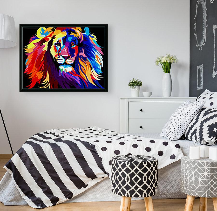 Lion Rainbow  Art