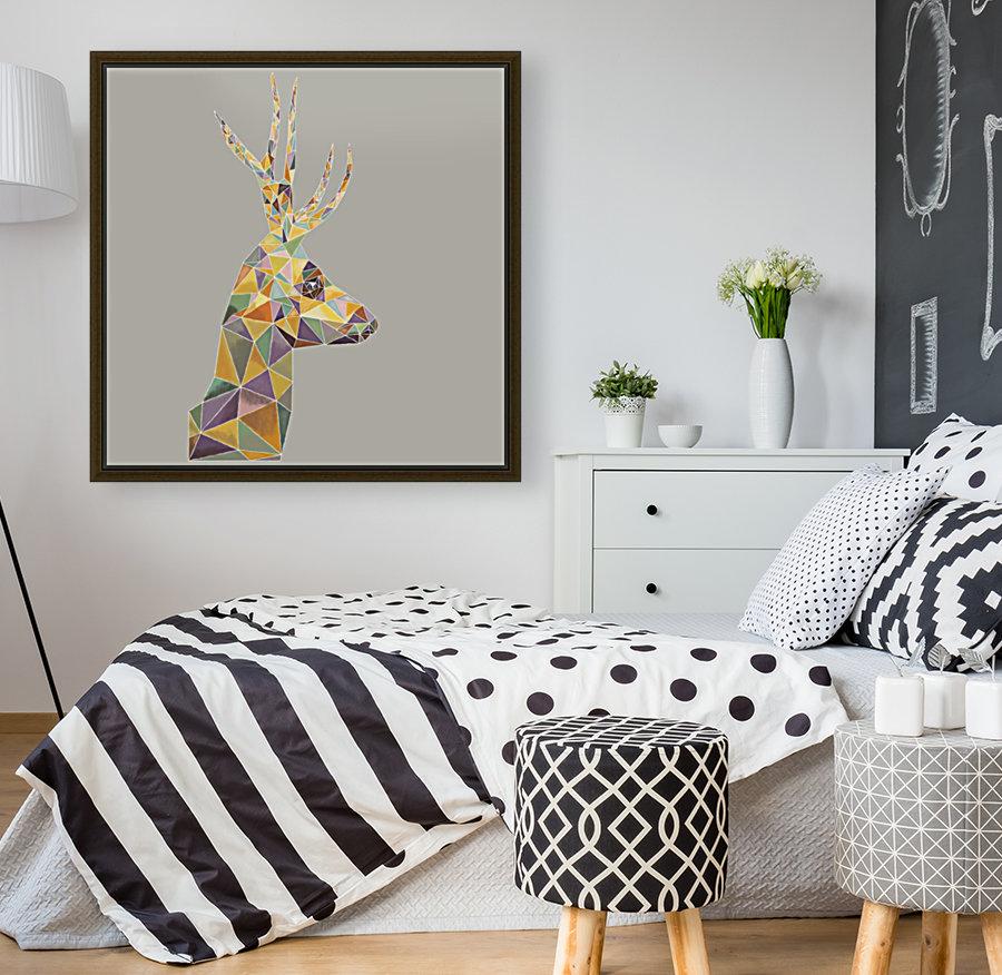 Deer mosaic  Art
