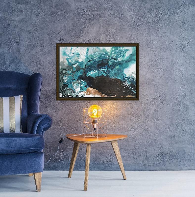 Ocean Glass  Art