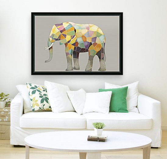 Elephant Mosaic  Art