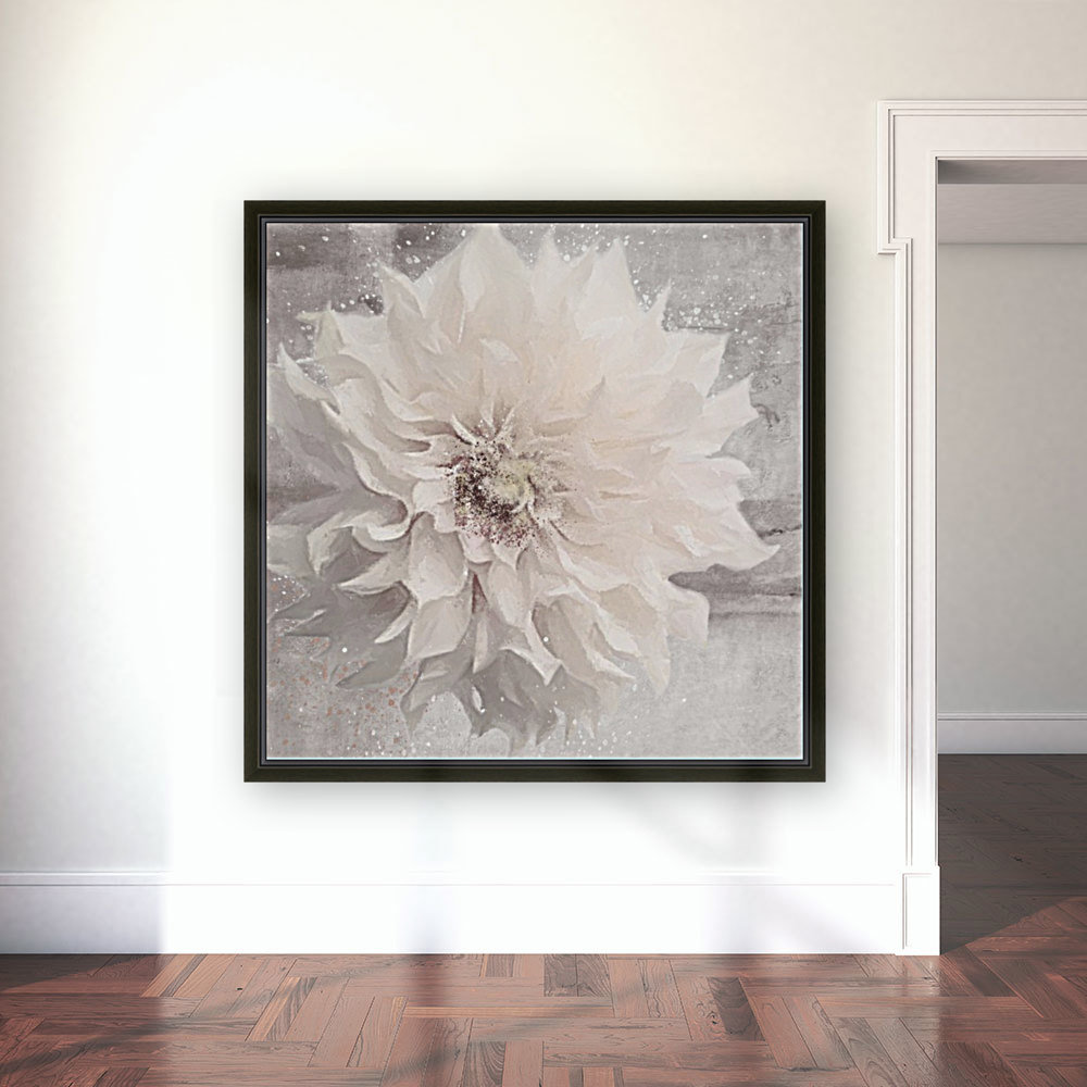 Blanc magique with Floating Frame