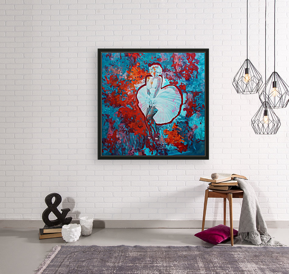 Marilyn with Floating Frame