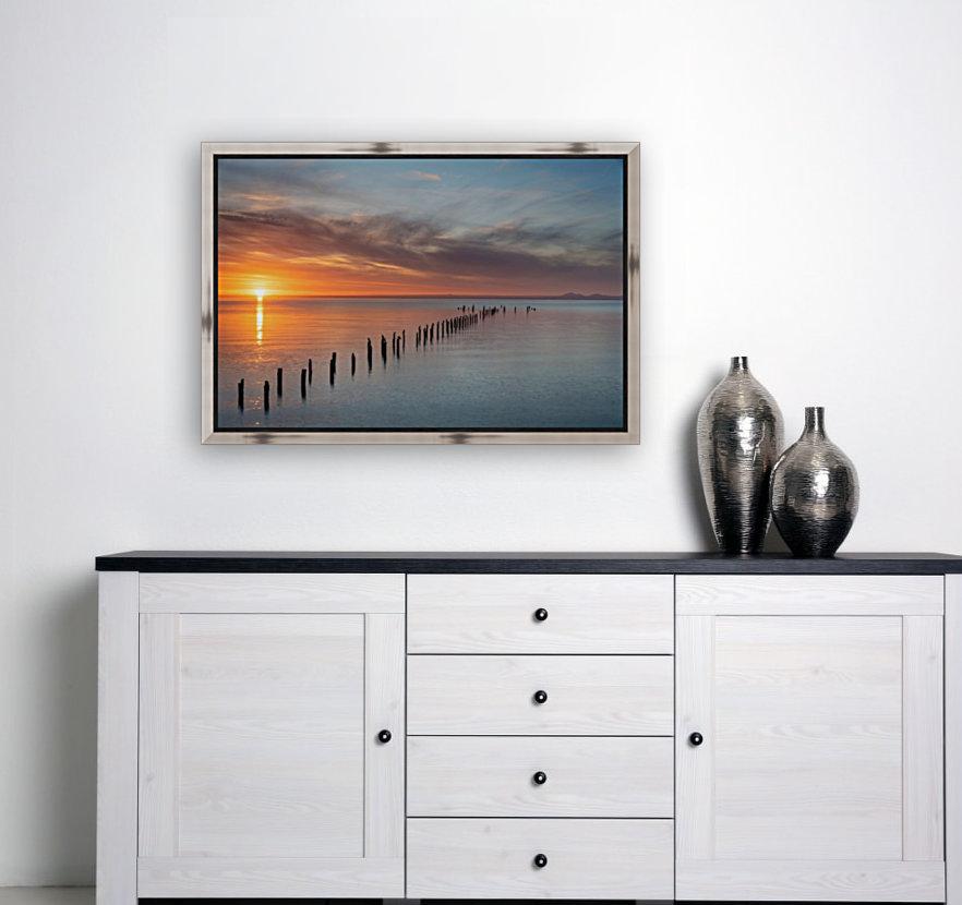 Sunset Pier  Art