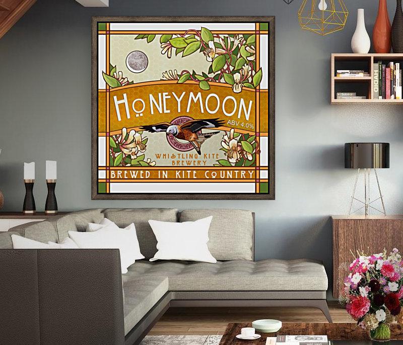 Whistling Kite Brewery: Honeymoon  Art