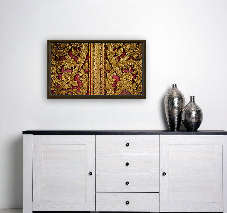 Golden wood carvings  Art