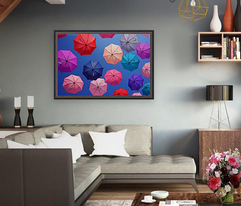 Colorful umbrella  Art