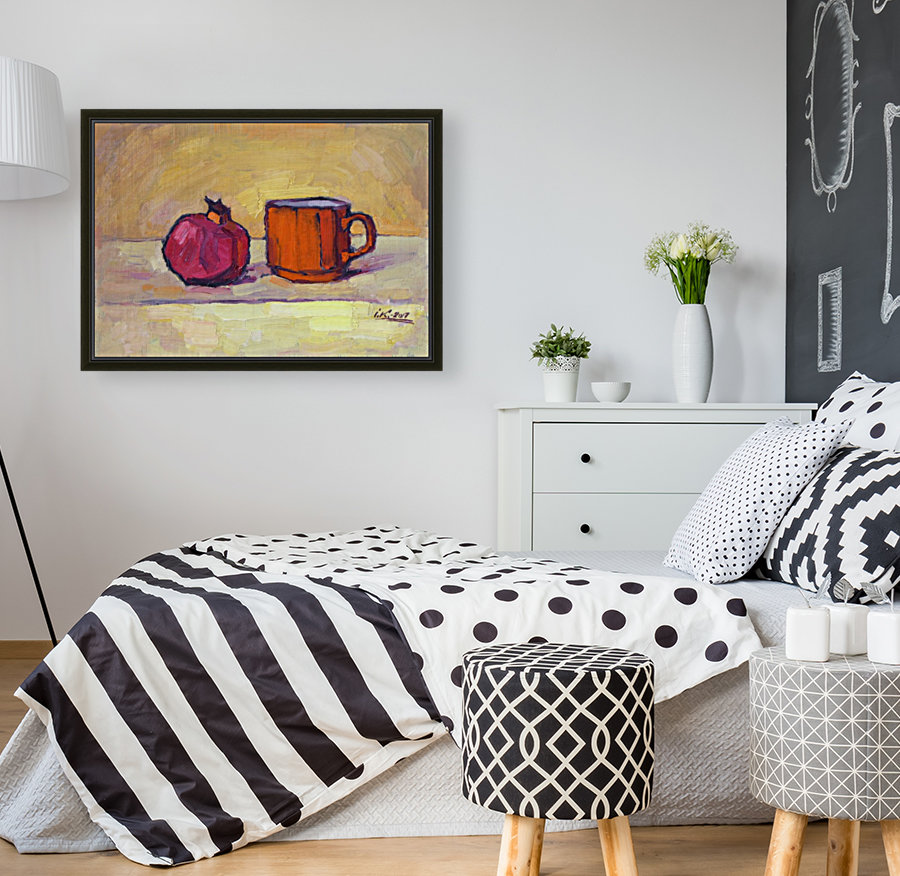 Pomegranate and Red Cup  Art
