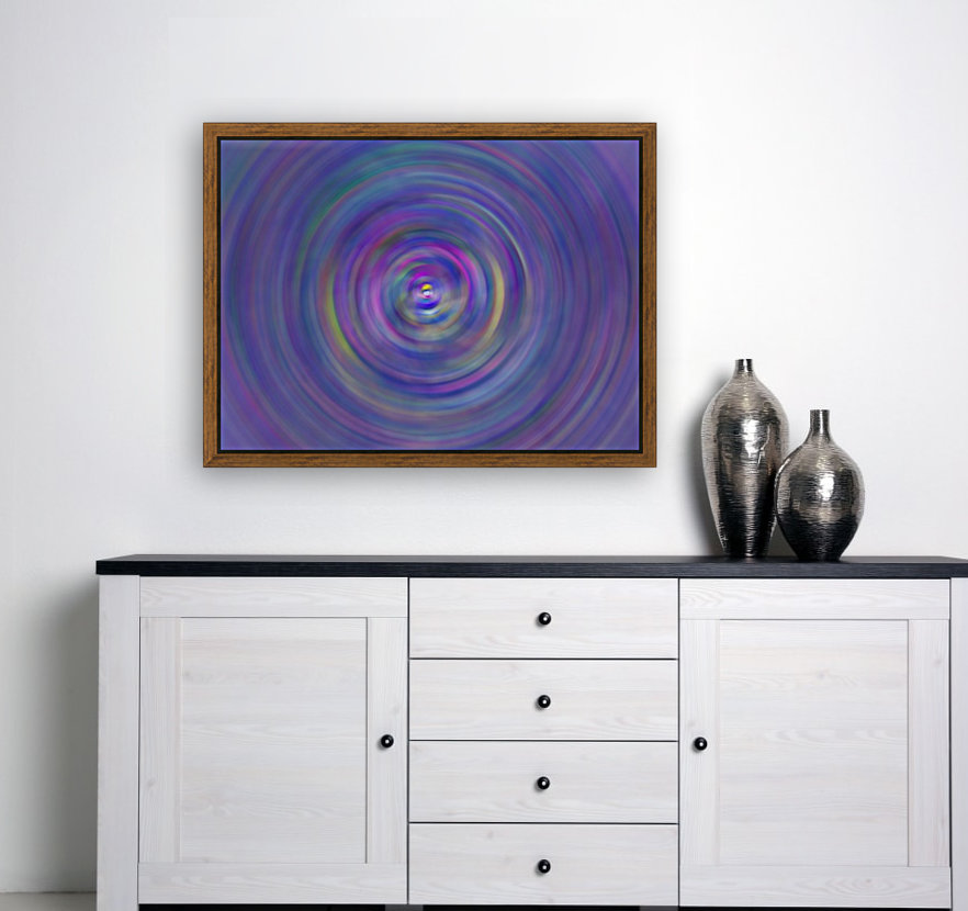 swirl color with Floating Frame