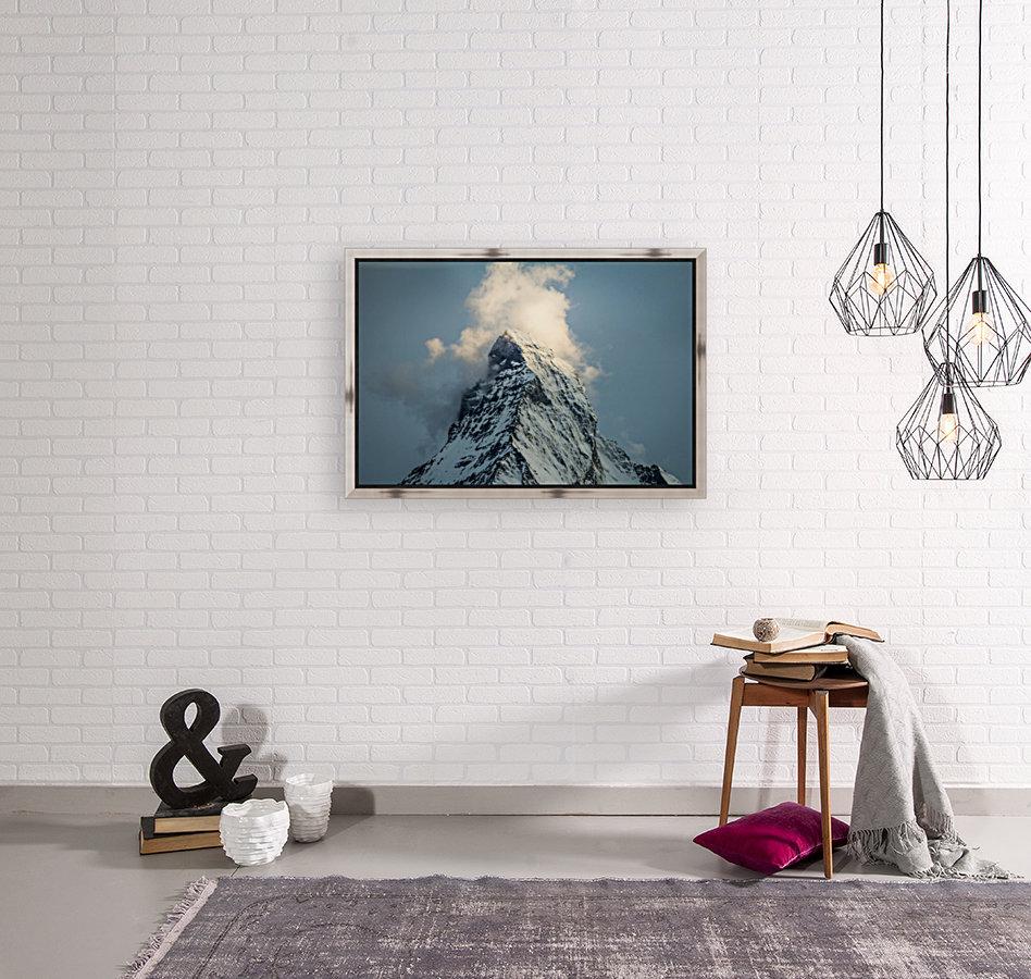 Matterhorn Glow Blue  Art
