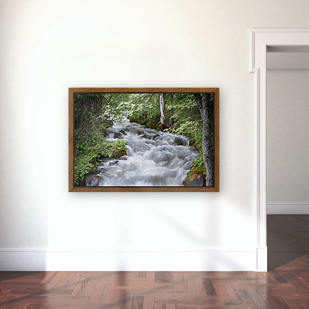 Beautiful Waterfall Photos - Alaska  Art