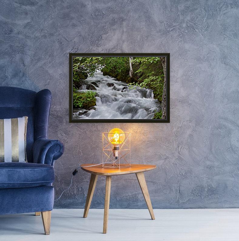 Beautiful Waterfall Photograph  Art