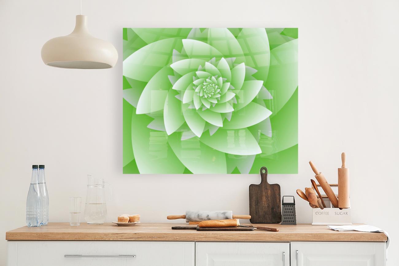 Greeny Floral  Art